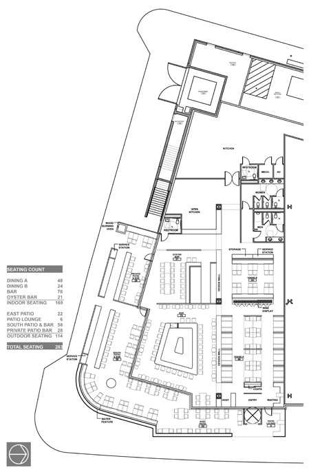 Floorplan - Empire Oyster House
