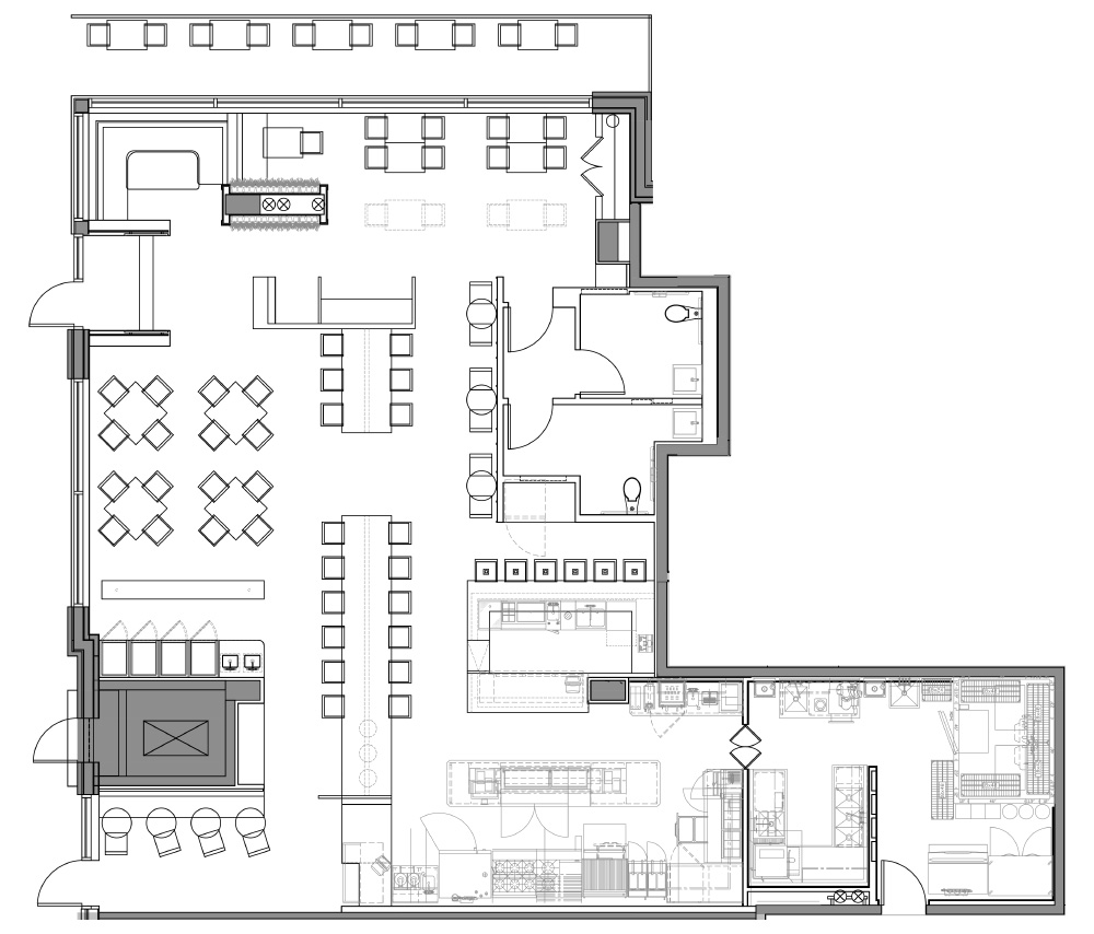 Floorplan - Florentijn, District Wharf, DC